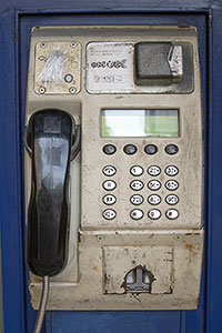 Coin Pay Phone