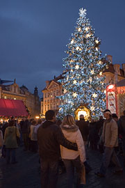 Christmas on Prague's Old Town Square